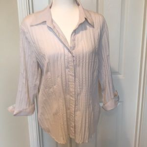 Apt 9 Stretch XL Button Front Shirt